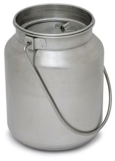 Large 1 gallon stainless steel jug perfect for boiling water and cooking for more than one person or your entire family! Great for 72 hour/bug out kits and vehicle kits! Sometimes bigger has its advantages!! Store items inside jug to offset space lost to this larger jug!