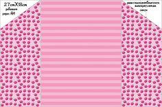 Morangos – Kit Completo com molduras para convites, rótulos para guloseimas, lembrancinhas e imagens! |Fazendo a Nossa Festa