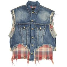 Pre-owned R 13 Jacket (€180) ❤ liked on Polyvore featuring outerwear, jackets, blue, women clothing jackets and blue jackets