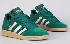 adidas Skateboarding Busenitz - Forest Green, Silver & Gum (4)