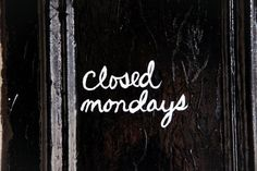 Hate Mondays ...