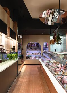 Interior design by Fiona Lynch for Peter Bouchier Butchers. Photo - Derek Swalwell on thedesignfiles.net