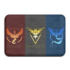 Amazon.com : EAUTOP Custom Teams In Pokemon Go Doormats With Non Slip…
