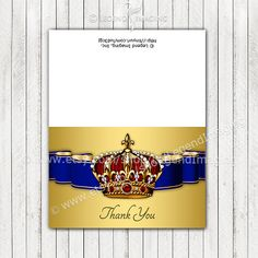 Prince Thank You Cards by LegendImaging on Etsy