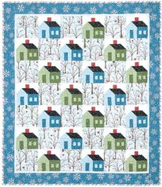 Love the tree print in this quilt