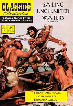 Cover for Classics Illustrated (JES) (Classic Comic Store, 2008 series) #4 - Sailing Uncharted Waters