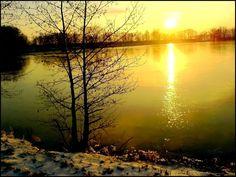 Fotoalbum: Východ a západ slunce : Západ v zimě