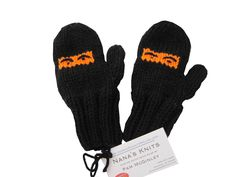 Wisconsin kids hand knitted Ninja mittens! Your kids will love these mittens so much they will never forget them! (We can't promise that but we know they will like them!)  Buy now at fromwi.com for only $14.99!