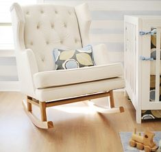 Empire Rocker Nursery Rocking Chair Baby Bebe Diva