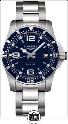 Longines L36424966 - Reloj para hombres, correa de acero  ✿ Relojes para hombre - (Lujo) ✿