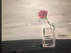 A personal favorite from my Etsy shop https://www.etsy.com/ca/listing/268988070/acrylic-rose-glass-painting