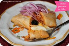 tamales peruano de pollo recipe