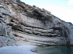 Bay Stiniva, island Vis, Croatia
