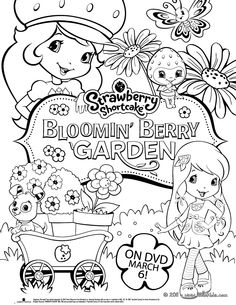 Strawberry Shortcake new DVD coloring page. Warm up your imagination and color nicely this Strawberry Shortcake new DVD coloring page from STRAWBERRY . Free Coloring Sheets, Coloring Pages To Print, Coloring For Kids, Adult Coloring, Coloring Books, Diy Crafts For Kids, Fun Crafts, Craft Ideas, Strawberry Shortcake Coloring Pages