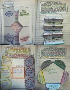 Interactive Reading Notebooks Informational Text: Nonfiction. This is amazing!!