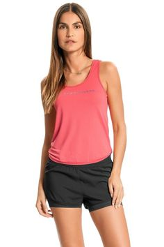 Regata Comfy Colors Rose Of Sharon, Basic Tank Top, Ideias Fashion, Comfy, Tank Tops, Female Fitness, Beachwear Fashion, Halter Tops, Crop Tank