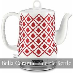 Electric Water Kettles for Tea and Warm Beverages