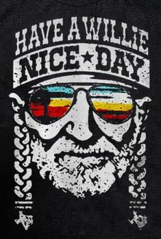 Hippie Peace, Willie Nelson, Have A Beautiful Day, Good Day, Life Is Good, Cross Stitch, Sayings, Music, Funny
