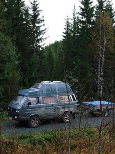 88 Westfalia in the forest Vw T3 Camper, Vw Bus T3, Camper Life, Volkswagen, Vw T1, Offroad, Vw Camping, Vw Vanagon, Bug Out Vehicle