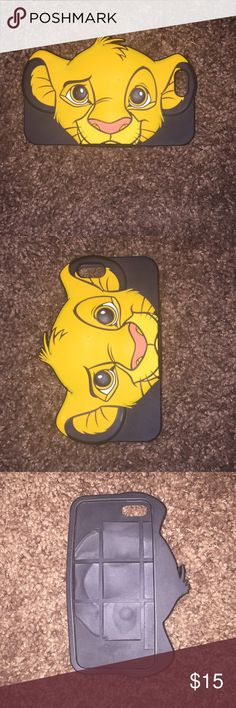 Lion king case Phone 5s case from Disney brand Disney Accessories Phone Cases