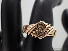 14 Kt Rose Gold Filled Ring by BobsFashionJewelry on Etsy, $49.95