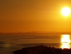 Beautiful Sunset over the #Mediterranean #Sea - #Photography by @Arisignes January 6th 2013