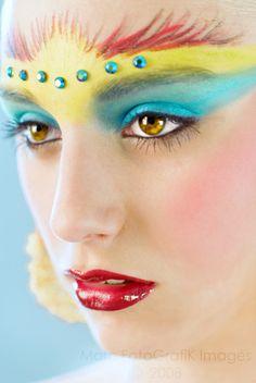 Parrot Makeup