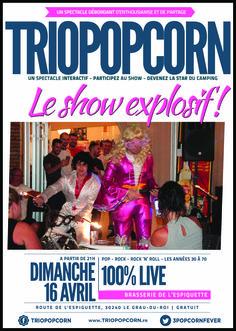 bar restaurant brasserie de l'Espiguette - camping de l'Espiguette - Gra-du-roi Montpellier ambiance surprise déguisements  groupe de rock Hérault triopopcorn occitanie