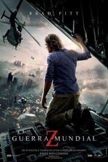 Guerra Mundial Z. Visto em 12/03/2016. Apesar de passar boa parte do filme tensa, a história é boa... porém achei que faltou um final!