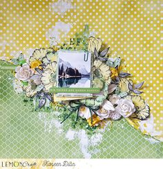 Wiosenny nastrój i 2 scrapy - The Spring mood and two layouts | Lemoncraft
