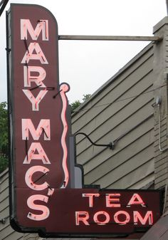 images of mary mac's | Mary Mac's neon sign