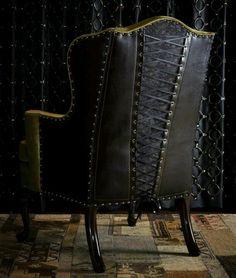 Corset chair! Love
