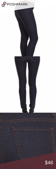 Dark Denim Dark wash jeans. Straight leg. Jeans Straight Leg