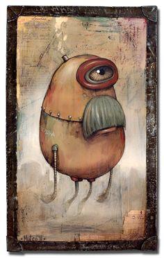 Mateo Dineen - Illustration - Monster - 2011