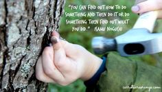 'You can find out how to do something and then do it or do something then find out what you did.' - Isamu Noguchi #Quotation #Learning