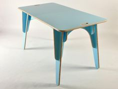 I love slot-together furniture! This dining table is my dream. Made in NZ