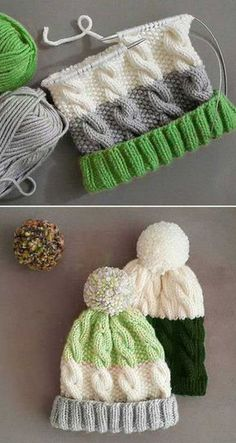 knitting for kids instructions Cozy Cable Knit Hat - Free Pattern knitting .knitting for kids instructions Cozy Cable Knit Hat - Free Pattern knitting patterns free hats beginner Amigurumi BabyFlip Flop Socks - Free Knitting Knitting For Kids, Knitting For Beginners, Easy Knitting, Knitting Projects, Start Knitting, Knitting Ideas, Knitting Scarves, Knitting Socks, Knitted Blankets