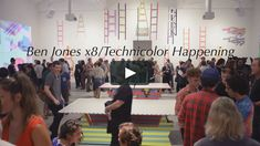 """This is a video of Ben Jones premier exhibition """"Ben Jones at Ace Gallery Beverly Hills, in conjunction with the collaboration """"Technicolor Happening. Ben Jones, Beverly Hills, Collaboration, Shit Happens, Gallery, Roof Rack"""