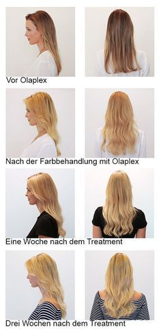 """""""Vom Brondie zum Blondie mit Olaplex"""" - Gefunden auf www.glamour.de"""