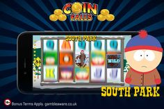 The funny faced Terrance, Philip and Mr. Hankey are ready to share some fun with their actions at South Park slot!! Enjoy South Park slot to grab huge jackpot: http://www.coinfalls.com/games/south-park/