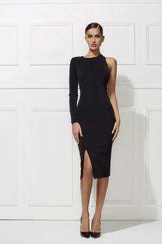 Misha Collection Debra Dress - Black - Coco California