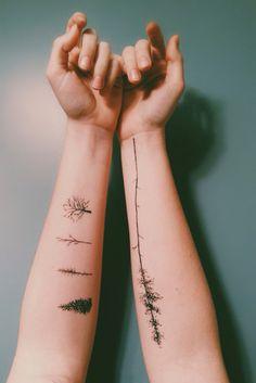 Beautiful nature tattoo that I want