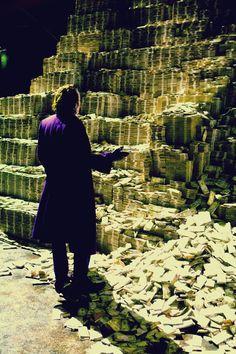'The Dark Knight' (2008) - Heath Ledger as Joker.