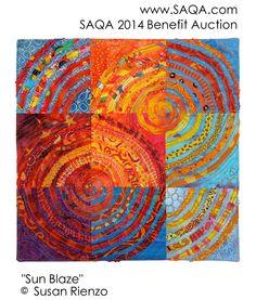 Art quilt by Susan Rienzo