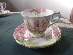 Royal Albert Blossom Time Teacup and Saucer, Mint Condition by MySimpleDistractions on Etsy
