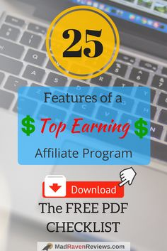 What do top earning affiliate programs look like? This 25 point checklist identifies high, converting programs traits that make money EVEN WITH LOW traffic, Digital Marketing Strategy, Marketing Tools, Internet Marketing, Online Marketing, Way To Make Money, How To Make, Blogger Tips, Problem Solving, Affiliate Marketing