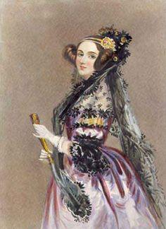 Ada Lovelace! First Computer Programmer... my hero.