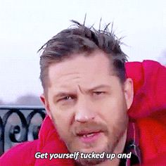 """Tom Hardy """"the Cloudspotter"""" a bedtime story in Cbeebies"""