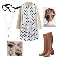 """Untitled #89"" by mkcorniel on Polyvore featuring Ray-Ban and Dorothy Perkins"
