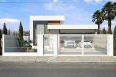 Resultado de imagem para fachadas de muros simples e bonitos